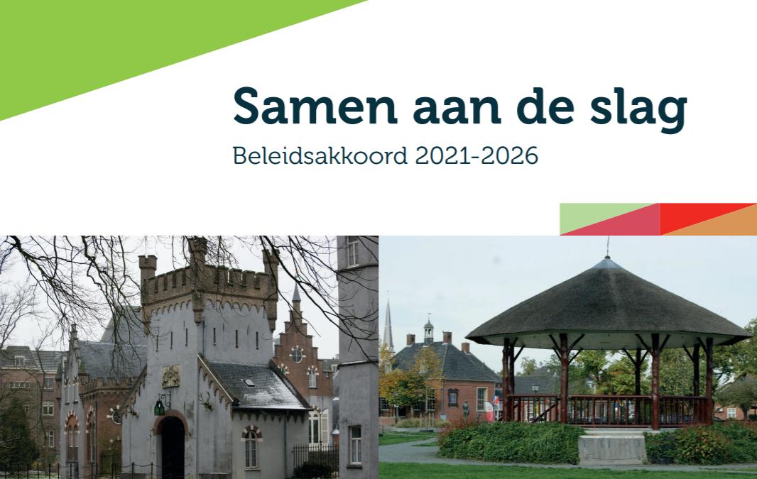 Reactie op beleidsakkoord 2021-2026: 'Samen aan de slag'